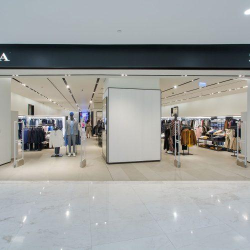 Zara แบรนด์แฟชั่นไลฟ์สไตล์ระดับโลก ที่ Emquartier
