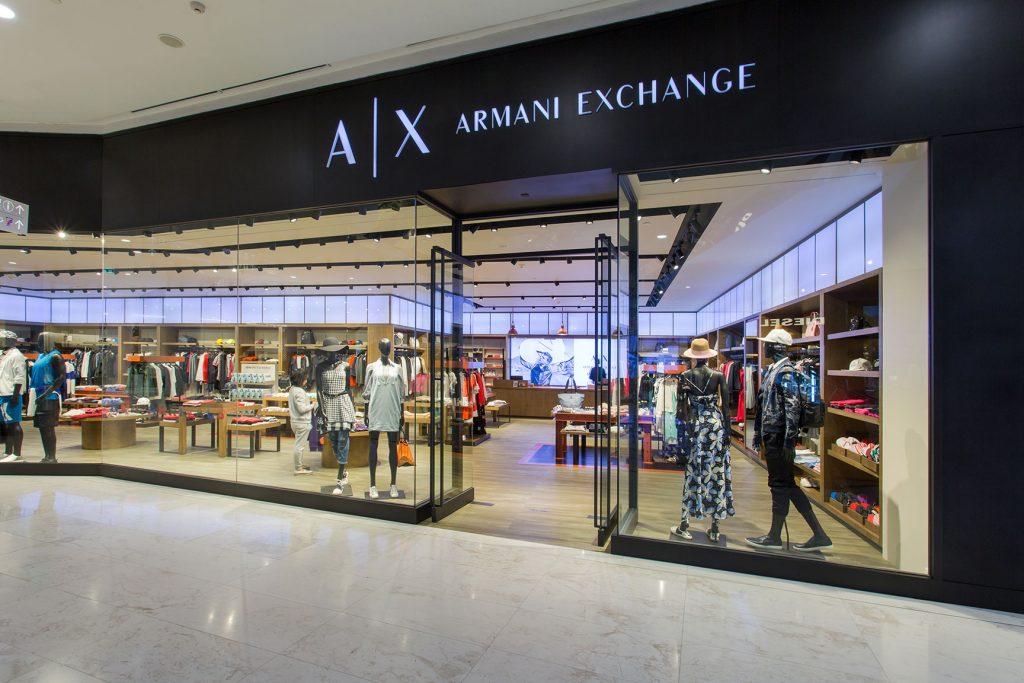armani exchange location